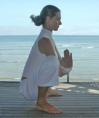 Prenatal Yoga posture - Squatting