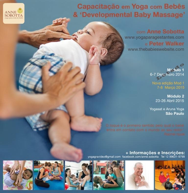 Capacitação Yoga com Bebês - Anne Sobotta 2015