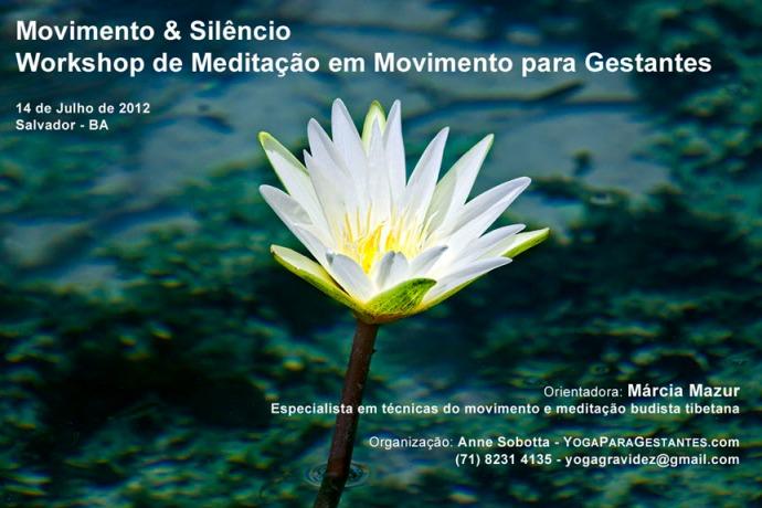 Movimento & Silêncio Workshop de Meditação em Movimento para Gestantes