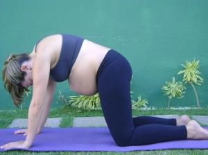 Postura do gato - Yoga