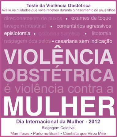 Teste da violencia obstetrica