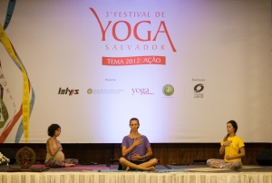 Anne Sobotta - Festival de Yoga de Salvador