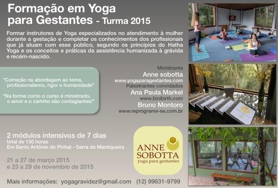 Formação Yoga para Gestantes Anne Sobotta