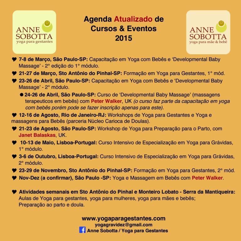 Agenda atualizado 2015
