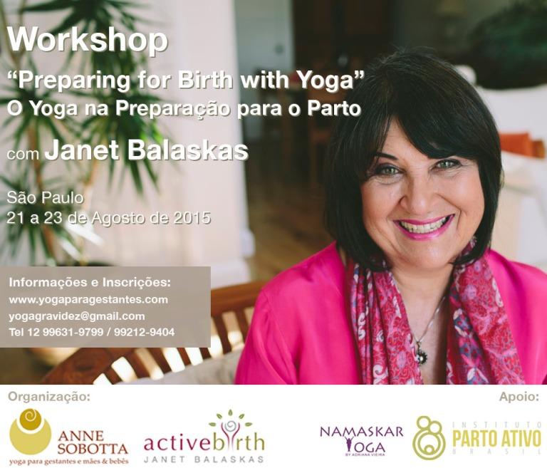 Janet Balaskas Yoga Brasil