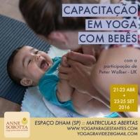 Curso Yoga Mães e Bebês Anne Sobotta