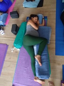 Curso Yoga para Gestantes 2016 Anne Sobotta São Paulo Brasil