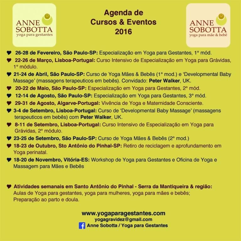 Agenda 2016 atualizado