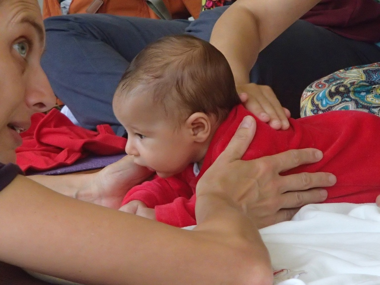 Yoga para mães e bebês, Anne Sobotta