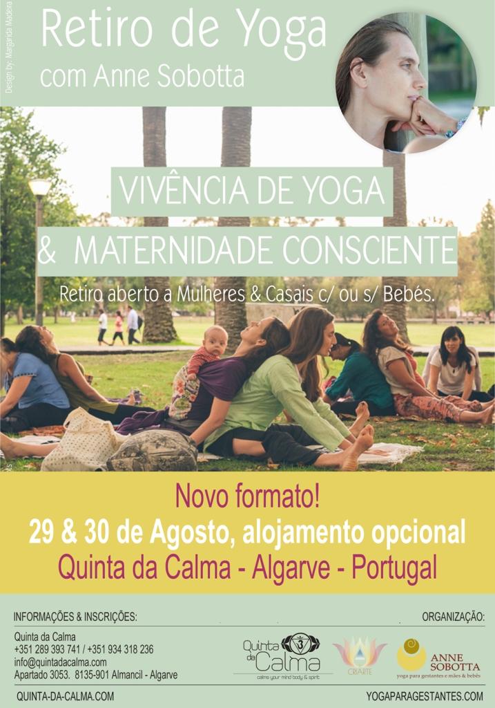 Retiro Yoga e Maternidade Consciente - Anne Sobotta Quinta da Calma Ago 2016