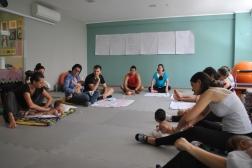 Workshop yoga na gestação e massagem e yoga para bebês, Vitória ES, Gesta Vida, Anne Sobotta, Denis Karenkin, Brasil 2016