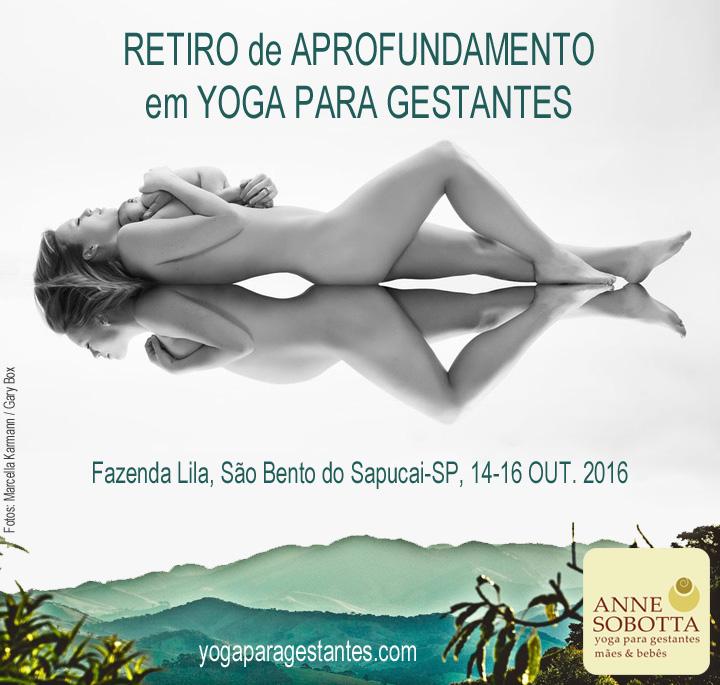 Retiro Yoga para Gestantes - Anne Sobotta - Fazenda Lila