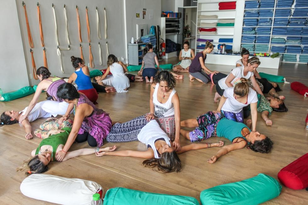 Especialização em Yoga para Gestantes 2017 Anne Sobotta São Paulo Brasil