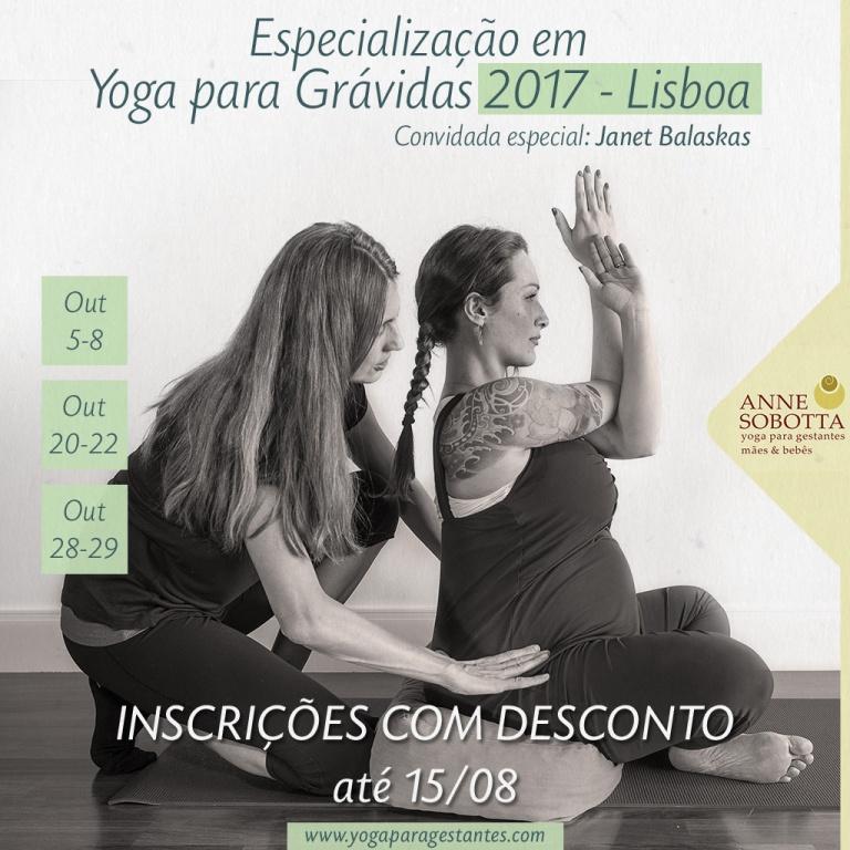 Especialização em Yoga para Grávidas 2017 com Anne Sobotta