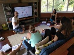 especialização em yoga para gestantes com Anne Sobotta na Mantiqueira - Brazil prenatal yoga