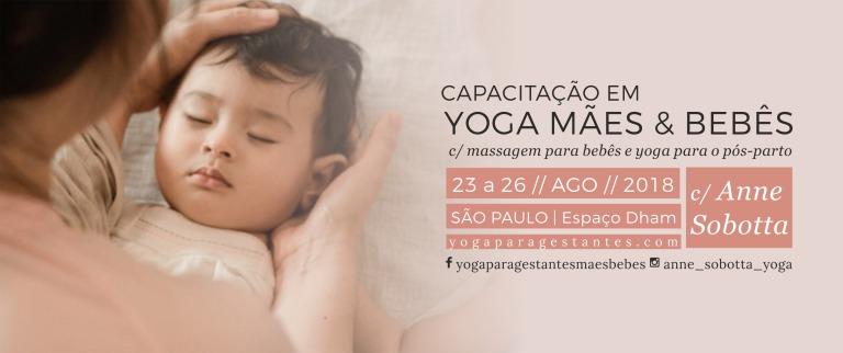 Yoga mães e bebês - Babyoga and post partum yoga - anne sobotta